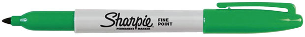 Sanford® Sharpie® Fine Point: Green