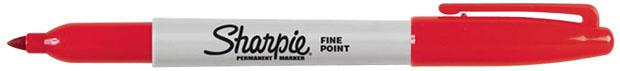 Sanford® Sharpie® Fine Point: Red