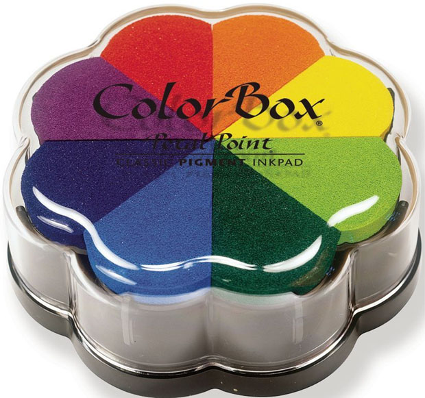 Clearsnap Colorbox® Stamp Pad: Pet Point Pinwheel