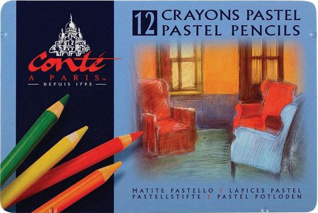 Elmer's® Conté Pastel Pencil: Set Of 12