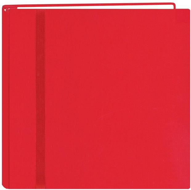 "Pioneer Snap Load 12"" x 12"" Scrapbook: Red"