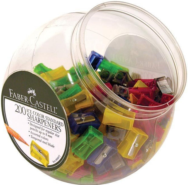 Faber Castell Sharpener: Display Of 200