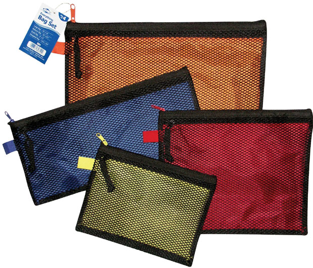 Alvin Everything Bag: Set of 4