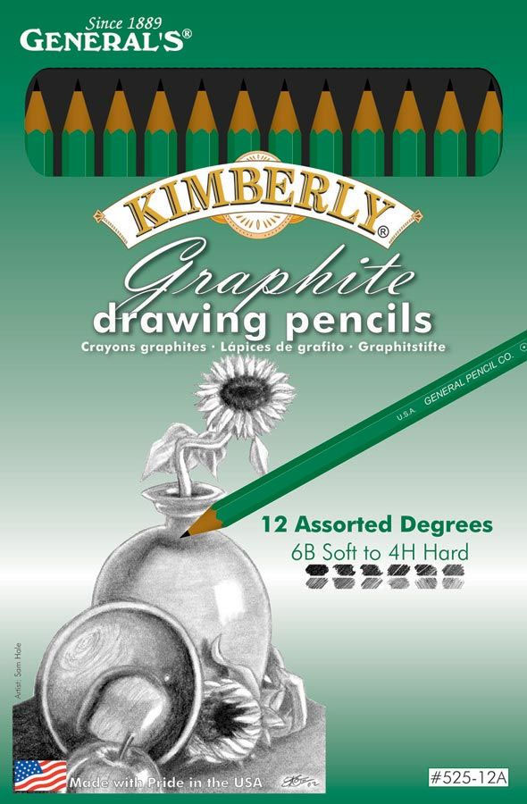 General's® Kimberly® Drawing Pencil: Set Of 12