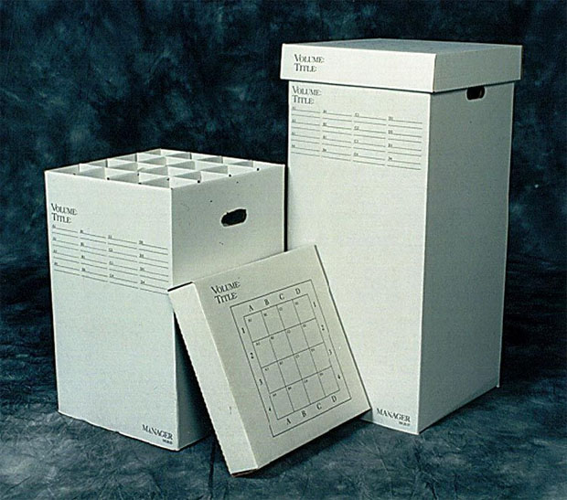 """Advanced Organizing Systems Manager Rolled Storage: 16 Slots, 25""""H"""