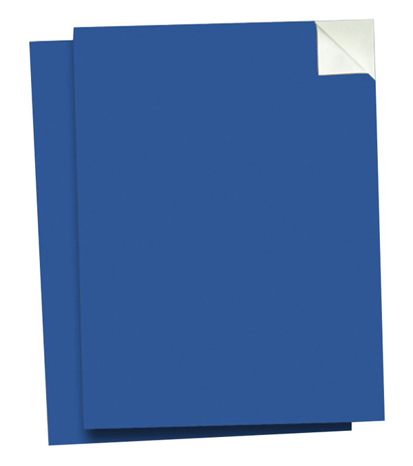 "Wallies 9"" x 12"" Peel & Stick Chalkboard Sheets Blueprint Blue Pack of 2"