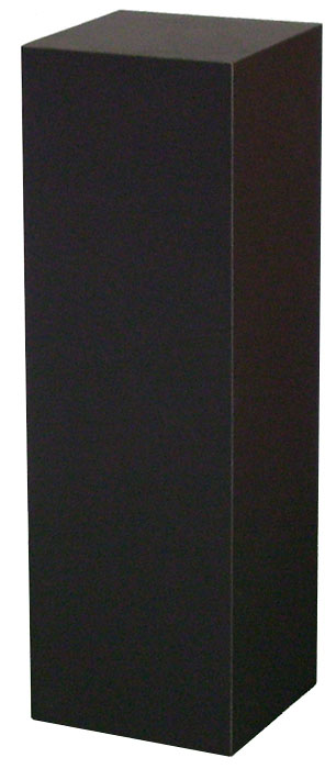 Xylem Black Laminate Pedestal: 18 X 18 inches, 12 inches Height