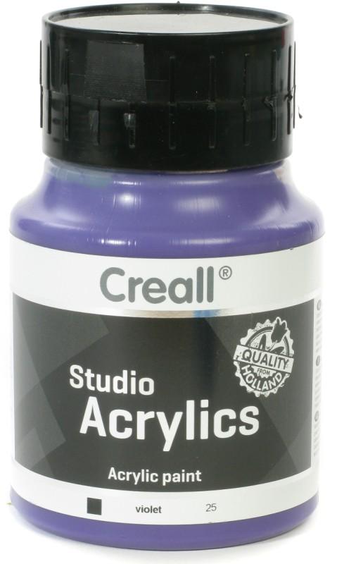 Creall Studio Acrylics: 500 ml, 25 Violet