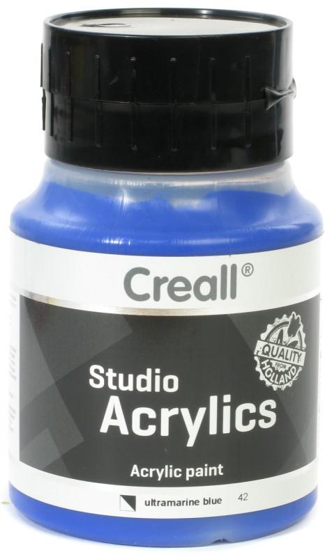 Creall Studio Acrylics: 500 ml, 42 Ultramarine Blue