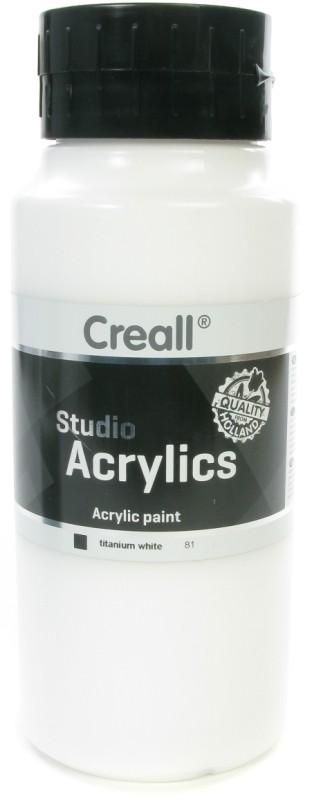 Creall Studio Acrylics: 1000 ml, 81 White
