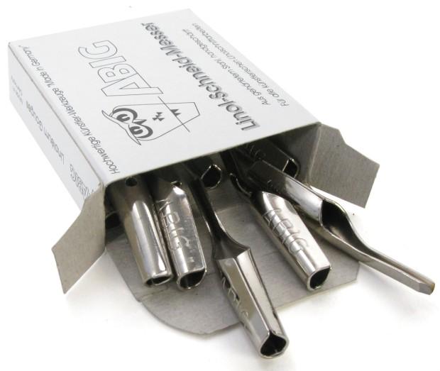 ABIG V Shaped Blade: 6 mm Hardened Steel