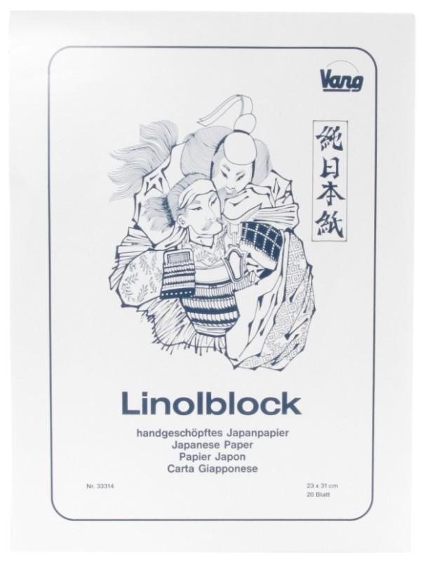 "ABIG Block Printing Paper: 20 Sheets, 9.05"" x 12.20"""