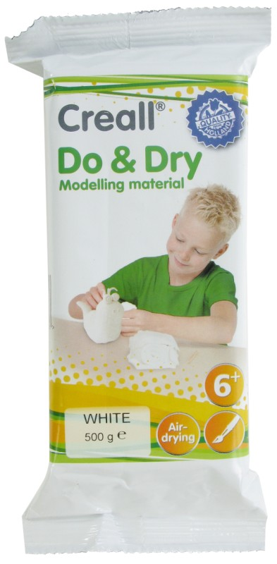 Creall-Do&Dry Regular: 500 g, White