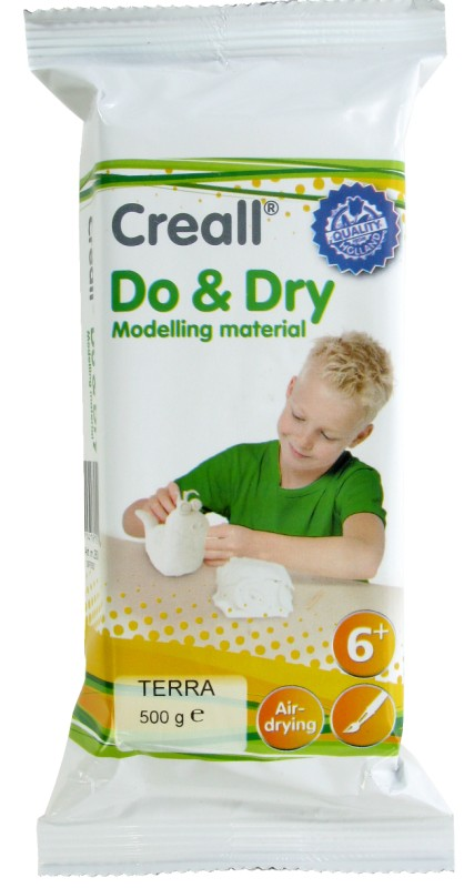Creall-Do&Dry Regular: 500 g, Terracotta