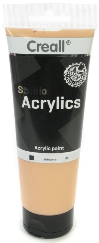 Creall Studio Acrylics Tube: 250 ml, 85 Skintone