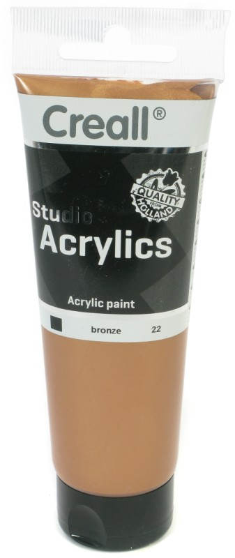 Creall Studio Acrylics Tube: 120 ml, 22 Bronze