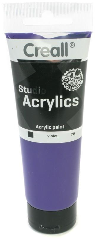 Creall Studio Acrylics Tube: 120 ml, 25 Violet