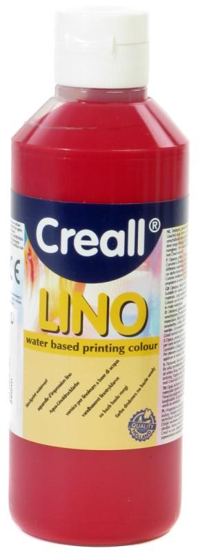 Creall-Lino: 250 ml, 04 Dark Red