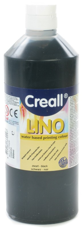 Creall-Lino: 500 ml, 09 Black