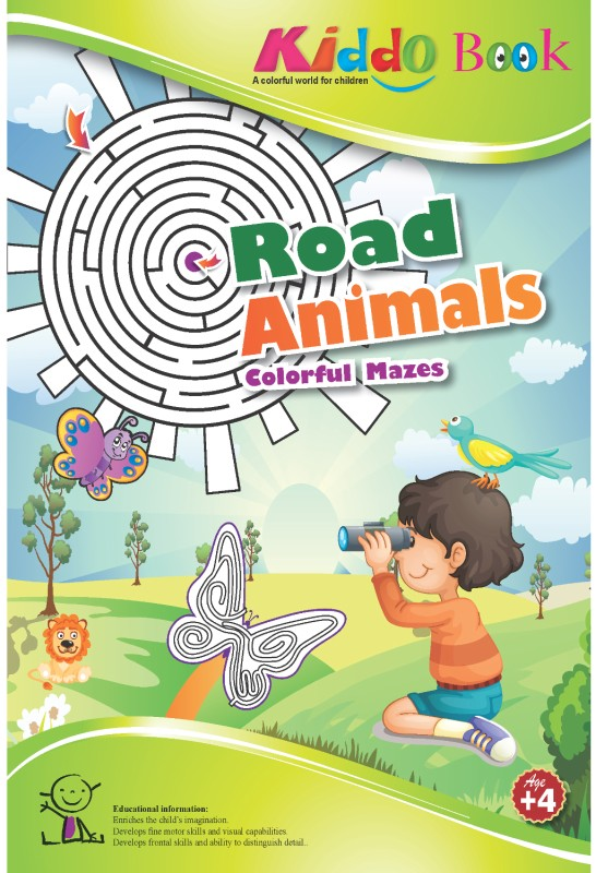Kiddo Road Animals