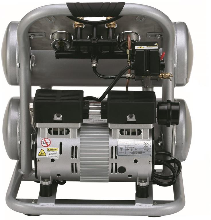 California Air Tools 4610AC Air Compressor: 1.0 HP, 4.6 Gal. Aluminum Tank, Ultra Quiet, Oil-Free, Lightweight