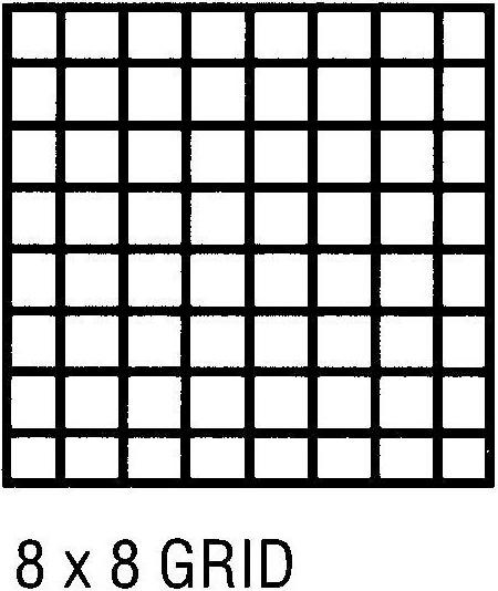 Alvin Clearprint 1000HP® Vellum 17 x 22inches Grid 8 x 8inches 50 Sheet Pad