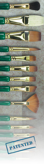 "Museum Emerald: Angular Shader, Size 1"""