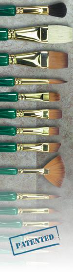 Museum Emerald: Script Liner, Size 3