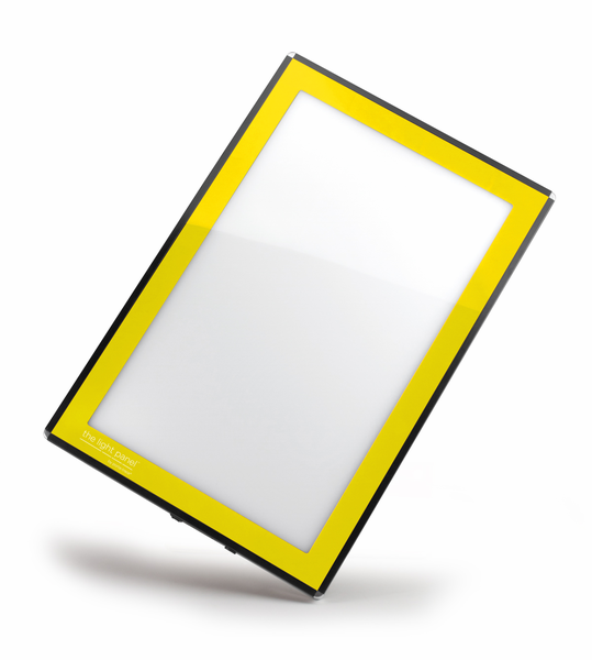 "Gagne Porta-Trace LED Light Panel: 11"" x 18"", Yellow"