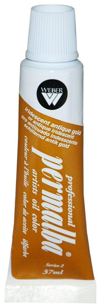 Professional Permalba Iridescent Antique Gold: 37ml Tube