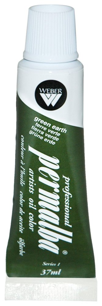 Professional Permalba Green Earth: 37ml Tube