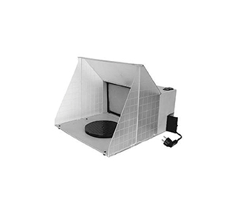 "Paasche Hobby Spray Booth: 16.5"" W x 13.5"" H x 19"" D"