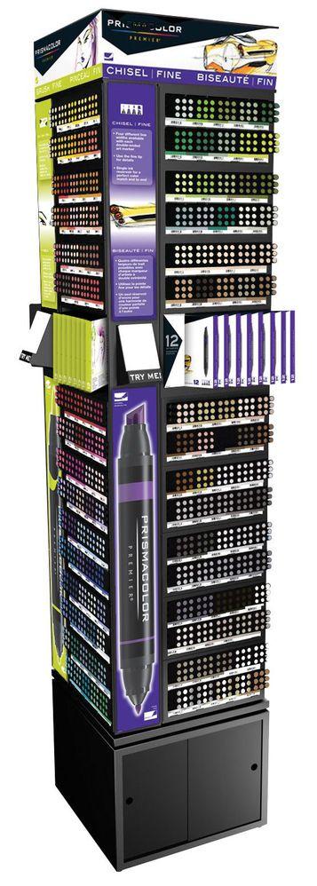 Prismacolor 2013 New Color Retrofit Kit for Art Tower Display Assortment