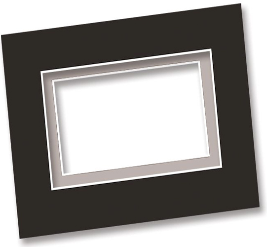 Alvin Mat and Drawing Board: 15 X 20 Inches, Black and White, Box of 50
