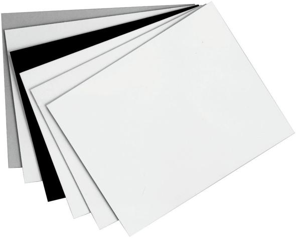 Alvin Black On Black Presentation Board 15 x 20inches 50/Ctn
