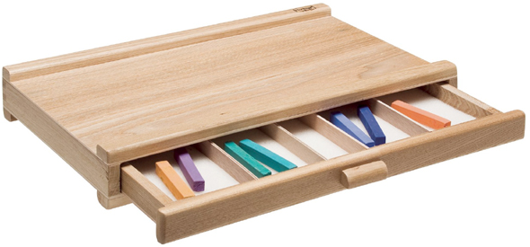 Heritage Pastel Storage Box: 1 Drawer
