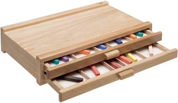 Heritage Pastel Storage Box: 2 Drawer