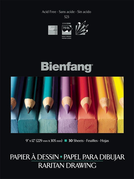 Alvin Bienfang® Raritan Drawing  Pad 18 x 24inches, 30 Sheet