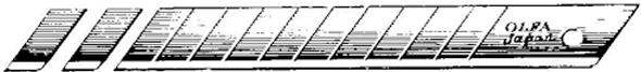 Alvin Olfa® Blades Stainless 10/Pk