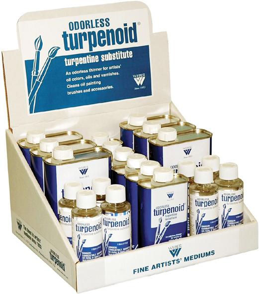 Alvin Weber Odorless Turpenoid®