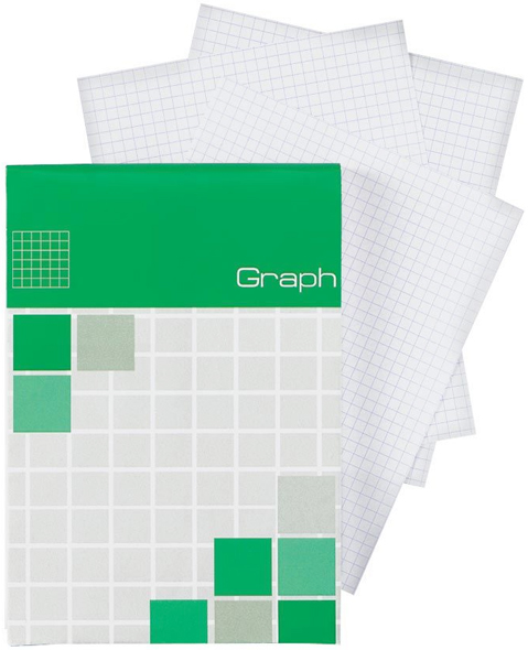 Alvin Saray Graph Note Pad 4.3 x 6.7inches 80 Sheets