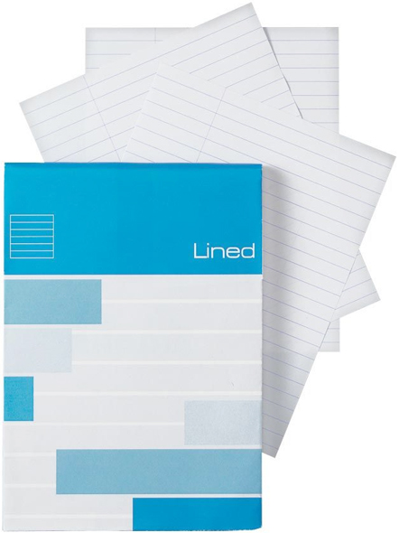 Alvin Saray Lined Note Pad 4.1 x 5.8inches 80 Sheets