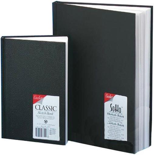 Alvin Cachet® Classic Black Sketch Book 5.5 x 8.5inches