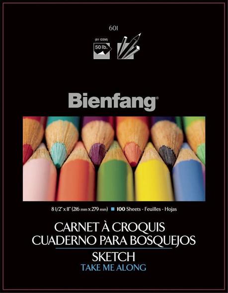 Alvin Bienfang® Take Me Along™ Sketch Book, 8.5 x 11inches, 100Sheets
