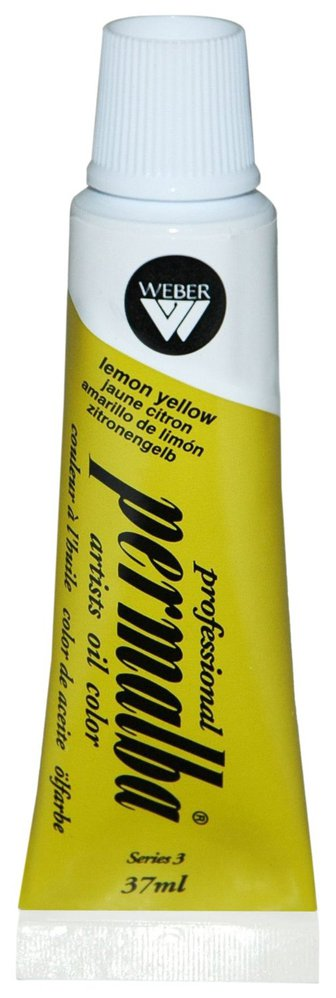 Professional Permalba Lemon Yellow: 37ml Tube
