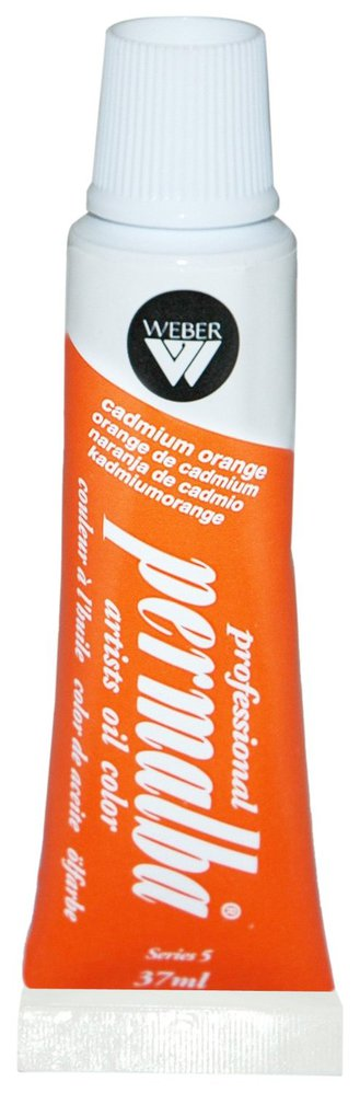 Professional Permalba Cadmium Orange: 37ml Tube
