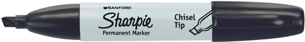 Sanford® Sharpie® Chisel Tip: Black