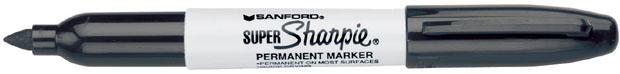 Sanford® Super Sharpie® Bold Point: Black