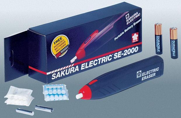 Sakura Electric Eraser Kit