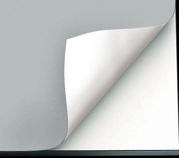 "Alvin Vyco Board Cover: Pre-Cut Sheet, Gray/White, 43.5"" x 72"", 8 lbs."